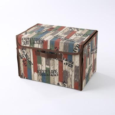 画像: フタ付ワイド収納BOX