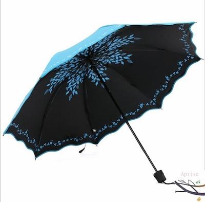 画像: [Qoo10] 日傘 折りたたみ 晴雨兼用 遮熱 手動式... : 日用品雑貨