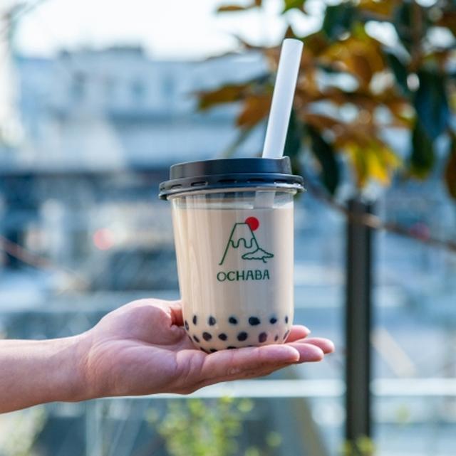 画像2: 【関西初上陸】東京で大行列の「日本茶ミルクティー専門店OCHABA」が大阪なんばシティにオープン!