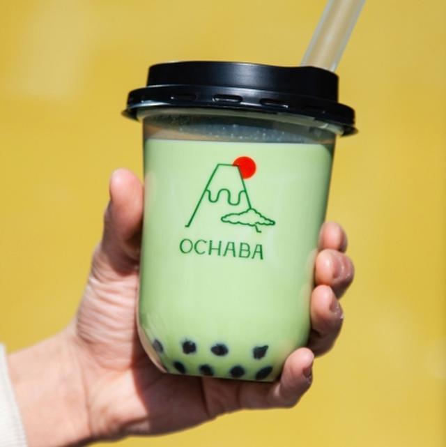 画像1: 【関西初上陸】東京で大行列の「日本茶ミルクティー専門店OCHABA」が大阪なんばシティにオープン!