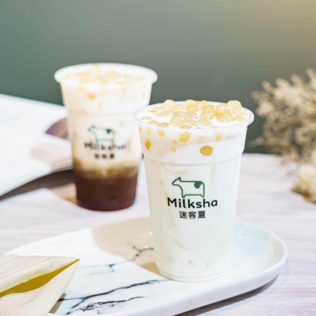 """画像1: 濃厚なミルクとナチュラルな""""白タピオカ""""で根強い人気を誇る台湾発「Milksha」、タピオカフリーク待望の日本初上陸"""