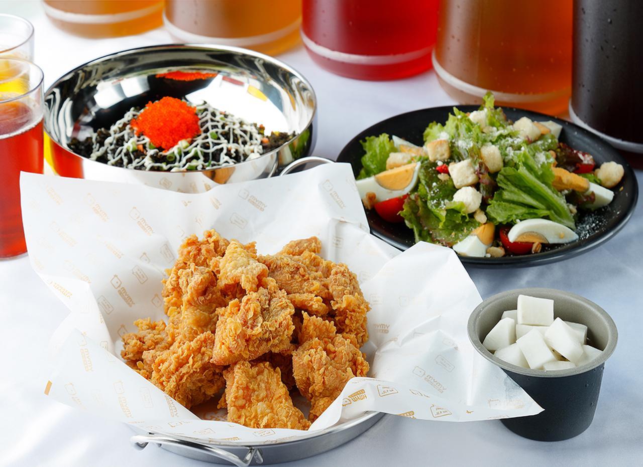 画像2: 韓国で大人気のチキンブランド「マイマイチキン」が 熟成サムギョプサル専門店「ヨプの王豚塩焼」とコラボして日本初上陸!