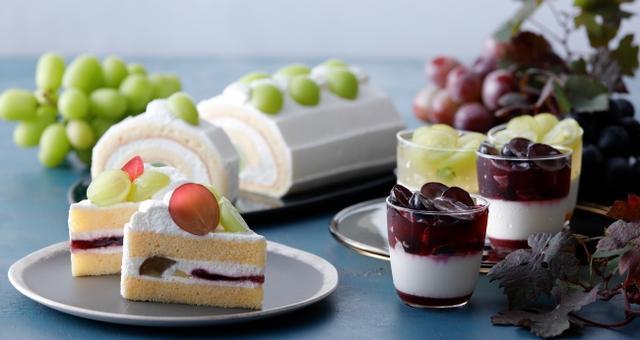 画像: ジューシーな果実を楽しむ、ぶどうスイーツ4種