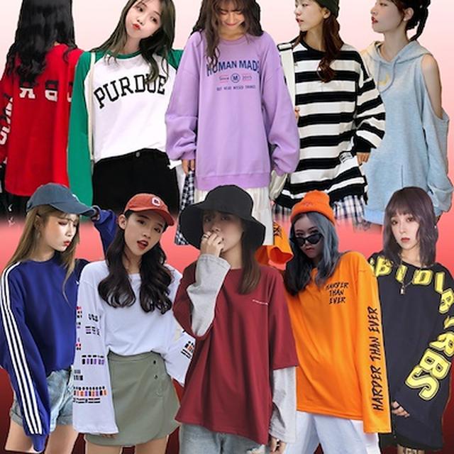 画像: [Qoo10] パーカー 長袖Tシャツ