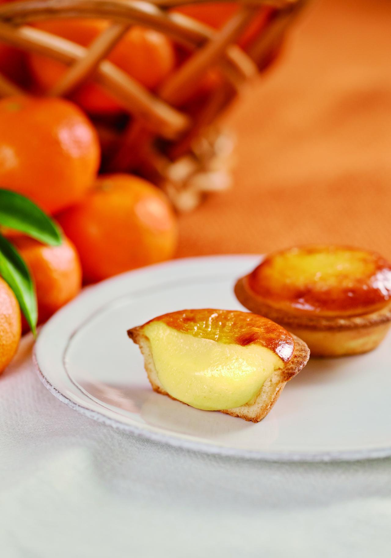 画像2: 年間約3500万個を販売する焼きたてチーズタルト専門店「BAKE CHEESE TART」より静岡県産「三ヶ日みかん」を使用、ほっこり温かみを感じるフレーバー登場!