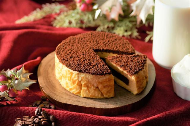 画像: 人気のミルクチーズケーキがクリスマス仕様に!「東京ミルクチーズ工場」から「ティラミスケーキ」が新登場!