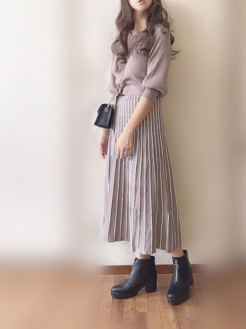 画像: ぴょん natural coutureのワンピースを使ったコーディネート - WEAR