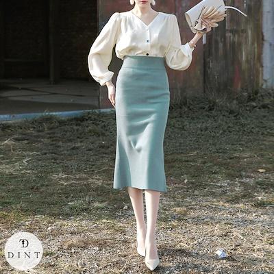 画像: [Qoo10] DINT(韓国ファッション) : 「DINT」 ★送料無料★SK1799♥... : レディース服