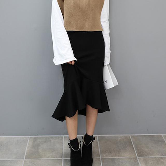 画像7: 暖かくてかわいい!寒い日のロングスカート7選