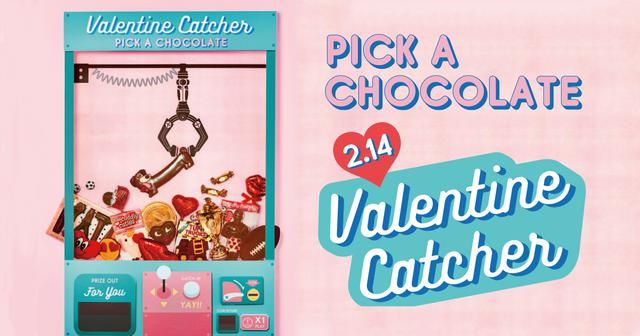 画像: Valentine Catcher - PICK A CHOCOLATE │ PLAZA │プラザ