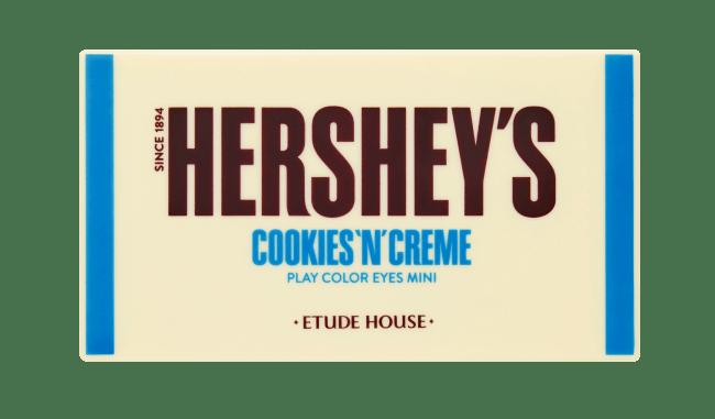 画像1: とろける発色、チョコよりもスイートな愛されEYE 『ハーシー プレイカラーアイズミニ クッキーアンドクリーム』