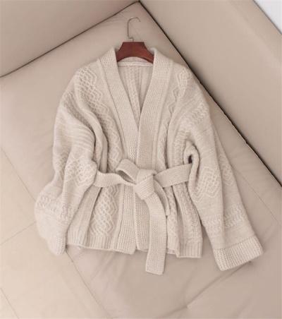 画像: [Qoo10] カーディガン ゆったりする セーター : レディース服