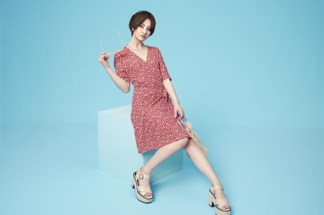 画像1: 身長158cm。彼女が、ファッションを、もっと自由にする。