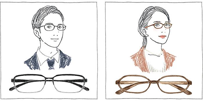 画像: メガネで「自分らしさ」と「より良く魅せる」 おすすめ就活メガネを提案