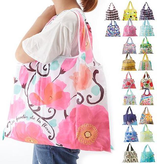 画像: コンパクトが嬉しい!デザイナーズジャパンのエコバッグ