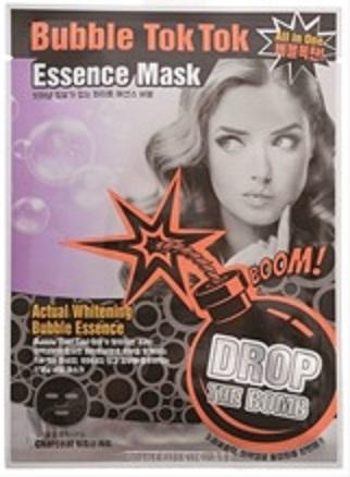 画像1: 泡がはじける音が楽しい!顔につけるとバブルが弾けるシートマスク