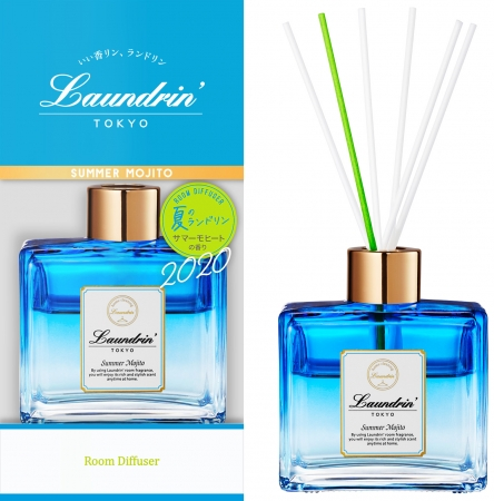画像5: ランドリンから夏季限定「サマーモヒートの香り」再販決定!柔軟剤、ファブリックミストも新発売!
