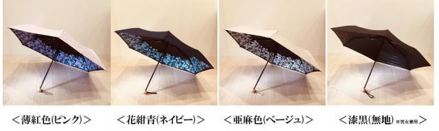 画像: ファンケルオリジナル「1級遮光折り畳み日傘(晴雨兼用)」