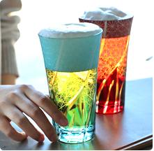 画像: 切子 名入れビールグラス