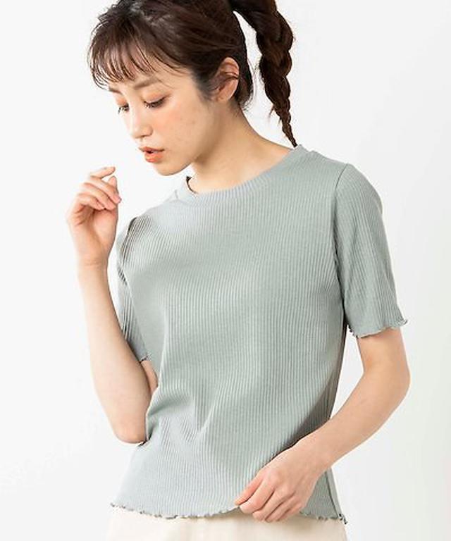 画像: [Qoo10] ウィゴー : 【WEGO公式】メロウリブTシャツ WS... : レディース服