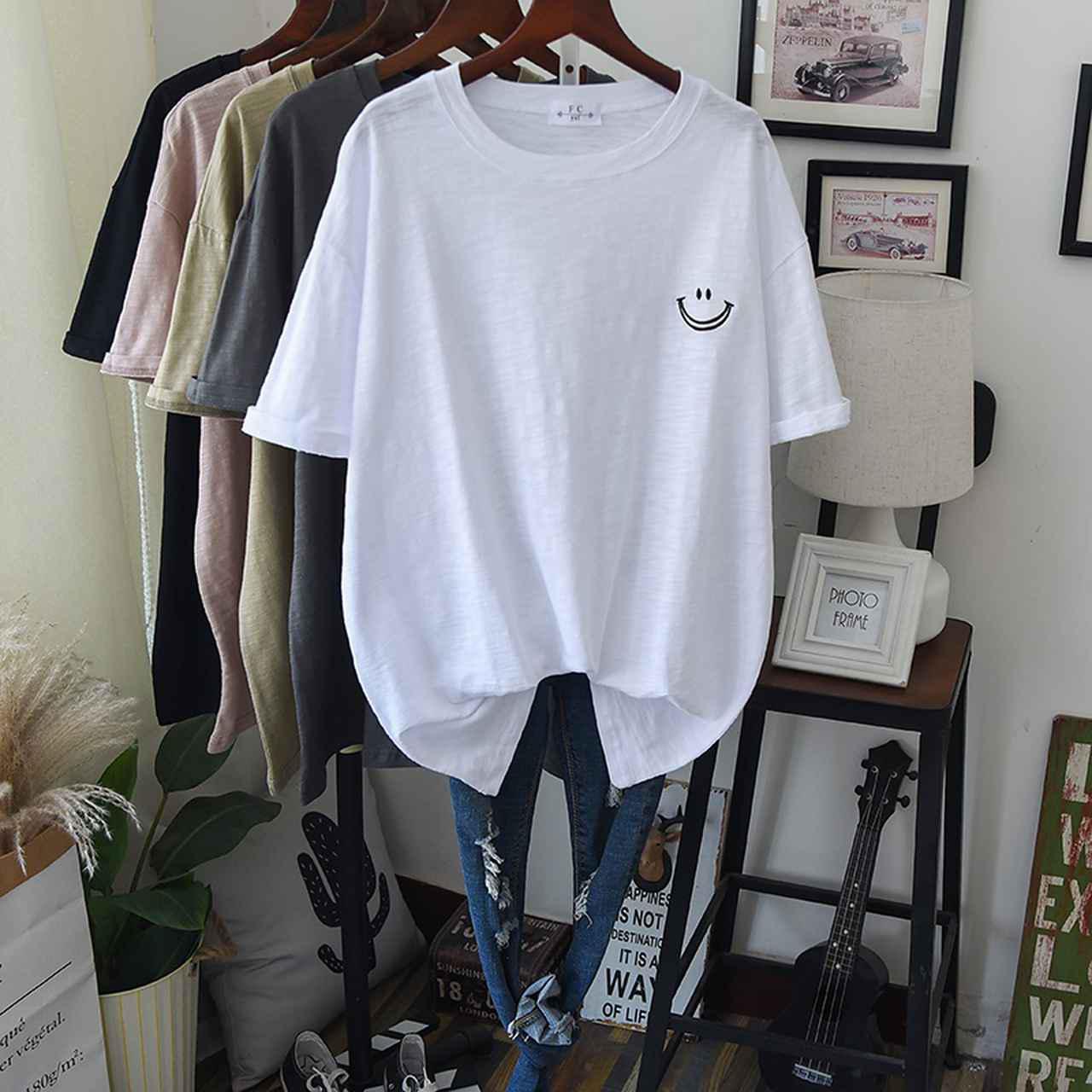 画像: 【1位】ゆったりTシャツ