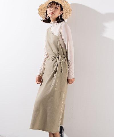 画像: [Qoo10] ウィゴー : 【WEGO公式】リネンブレンドワンショル... : レディース服