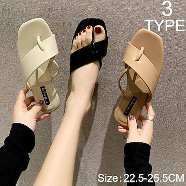 画像: [Qoo10] 新品追加 快速出荷 サンダル 女性の靴 ... : シューズ