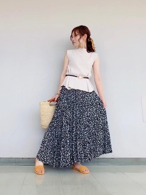 画像: MIKO(ROPE' PICNIC 宇都宮福田屋) ROPE' PICNICのスカートを使ったコーディネート - WEAR
