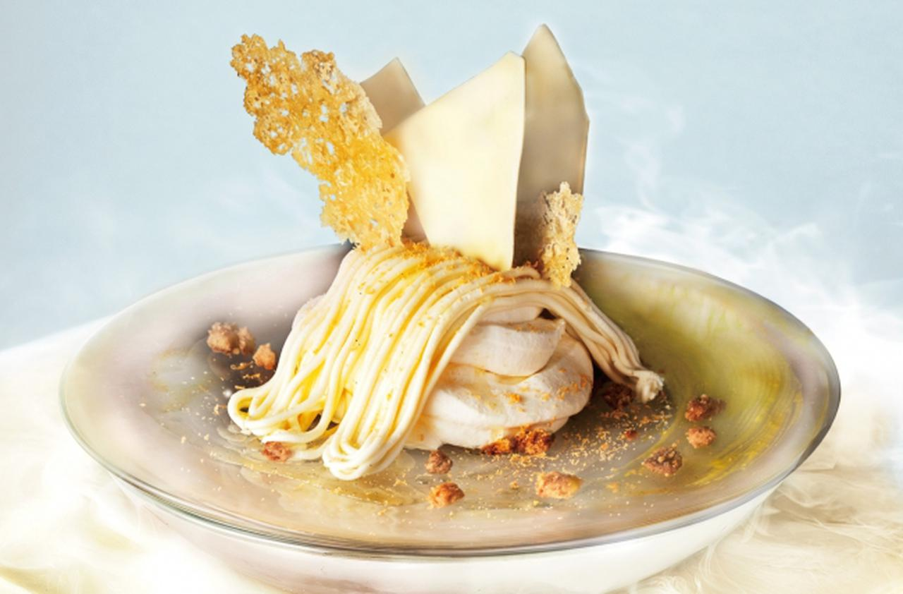 """画像: まだまだ広がるチーズケーキの世界!<北海道産チーズ×""""生""""モンブラン>新作チーズスイーツ登場。"""