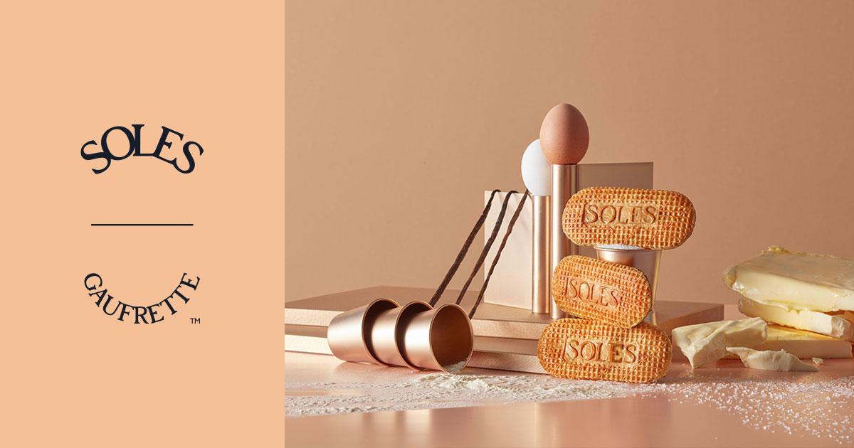 画像: SOLES GAUFRETTE   バターゴーフレット専門店