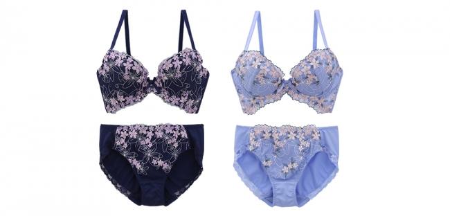 画像3: すりみんぐブラ iris(アイリス)コレクション / rose(ローズ)コレクション