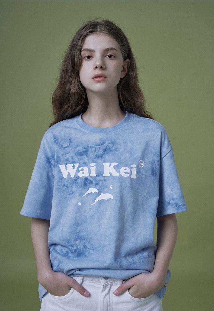 画像: ポイントタイダイTシャツ