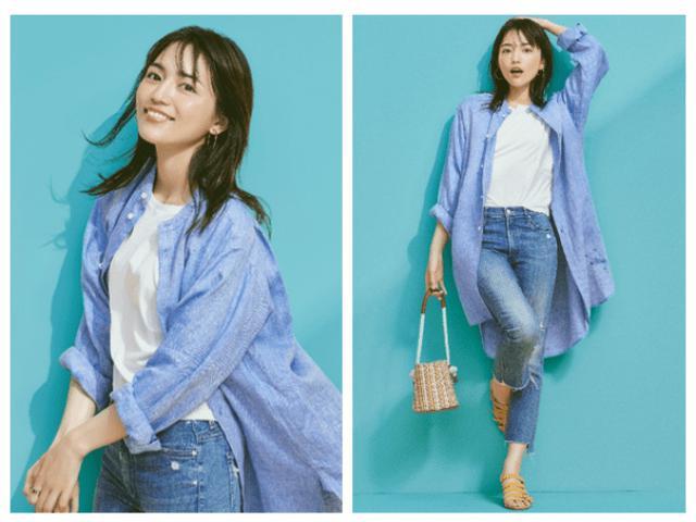 画像: Qoo10特集 「July Style with川口春奈」OPEN「THE SIMPLE. シンプルかわいい。