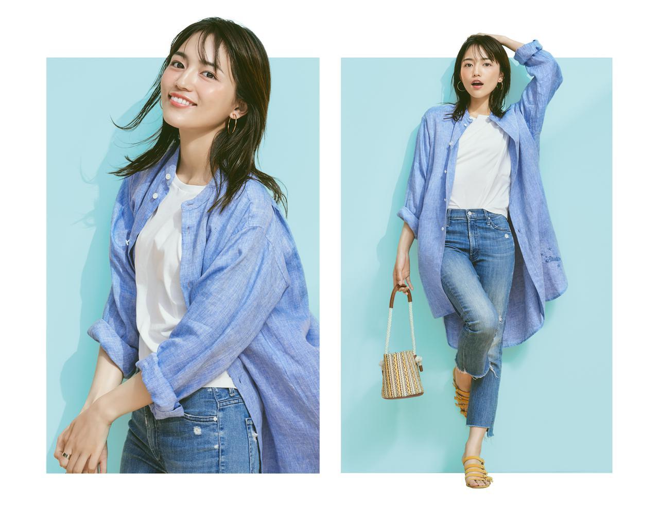 画像: July Style with 川口春奈シンプルかわいい。THE SIMPLE.2020.07.20(月)~2020.07.26(日)