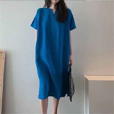 画像: [Qoo10] 限定大特価!! ゆったりなロングワンピー... : レディース服