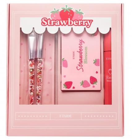 画像2: イチゴの果汁広がるような ベリーメイクに彩るスペシャルキット『ストロベリーブロッサムキット』新発売