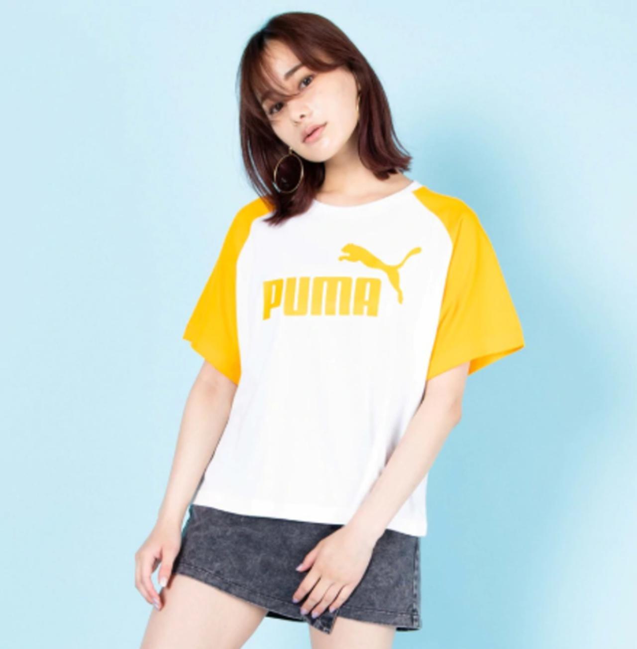 画像: 別注PUMAカラーラグランT bit.ly