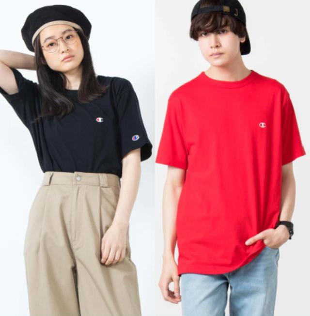 画像: チャンピオン刺繍Tシャツ bit.ly