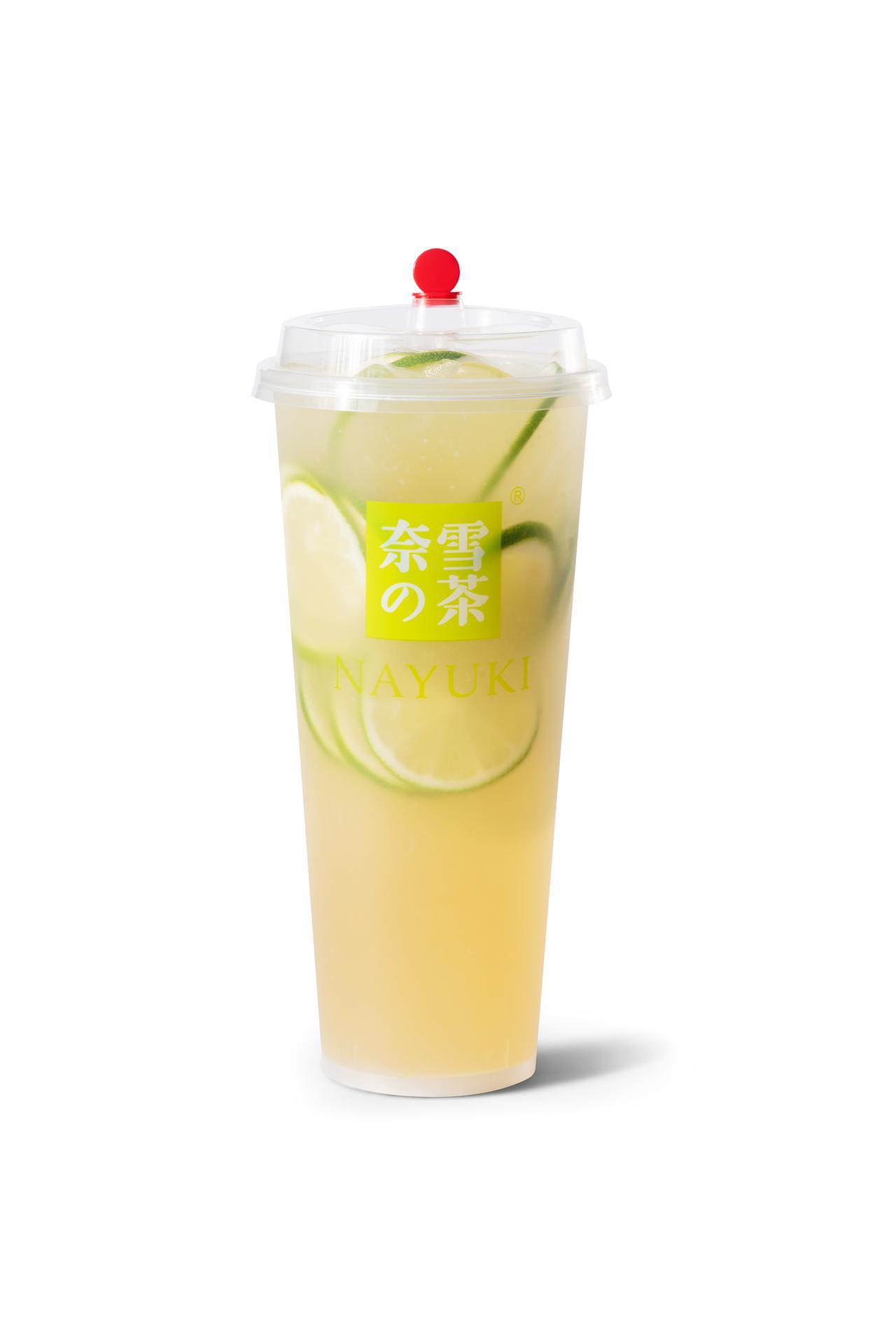 画像: 第 9 位「奈雪レモネードジャスミン」(M480 円 L580 円)