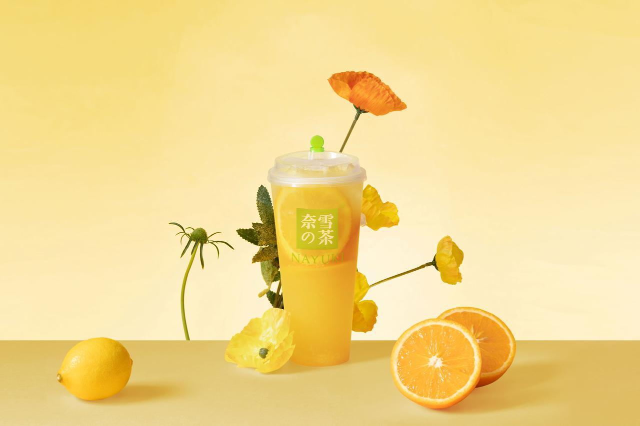 画像: 第 4 位「奈雪オレンジジャスミン」(M600 円 L700)