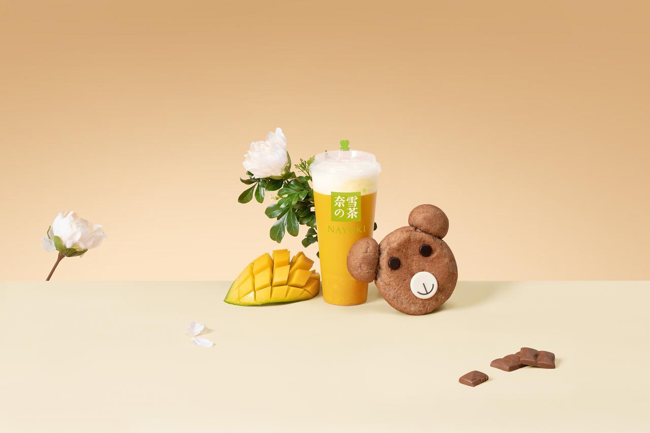 画像: 第 10 位「マンゴチーズティー」(M680 円 L780 円)