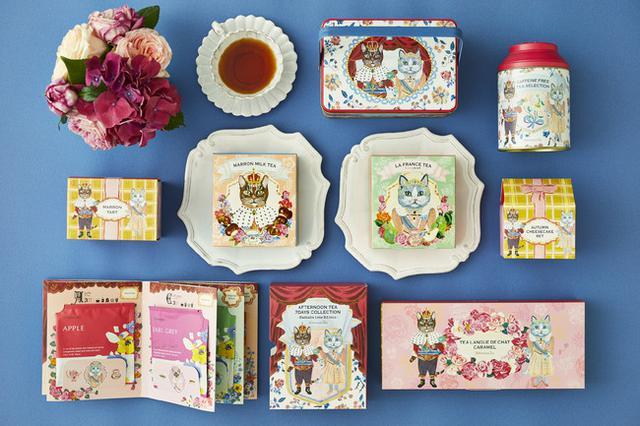 画像: 【Afternoon Tea】ラ・フランス、マロンの紅茶やスイーツなど秋限定商品が登場!