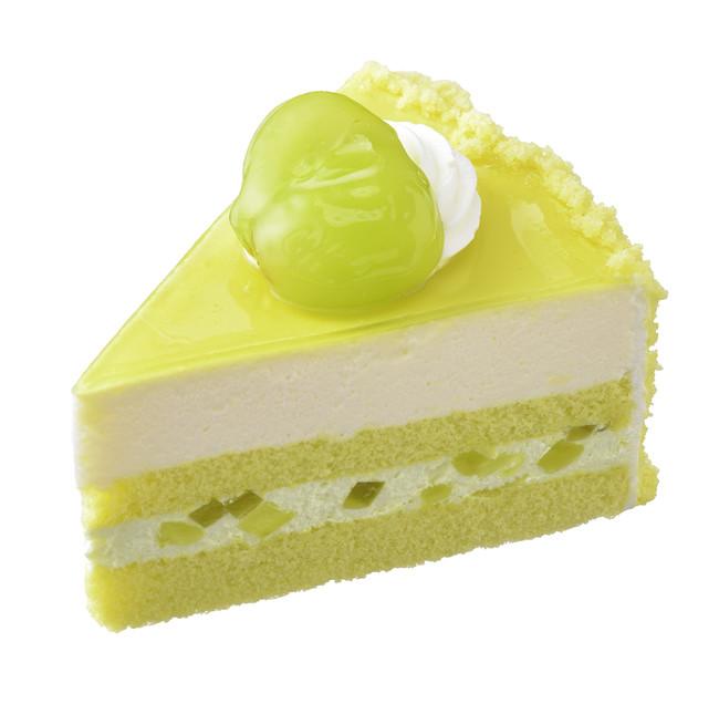 画像4: この時期だけの旬の味わい!「シャインマスカット」を使用したケーキが期間限定で発売中!