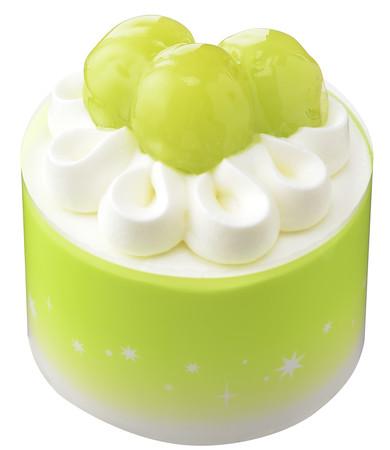 画像1: この時期だけの旬の味わい!「シャインマスカット」を使用したケーキが期間限定で発売中!