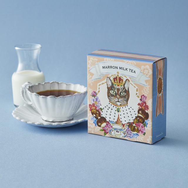 画像2: ラ・フランスやマロングラッセをイメージした香りが広がる秋限定のお茶