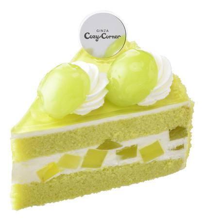 画像2: この時期だけの旬の味わい!「シャインマスカット」を使用したケーキが期間限定で発売中!