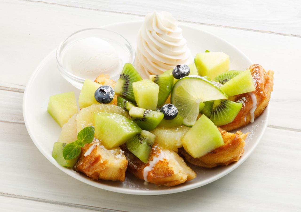 画像1: メロン&ライムの爽やかな夏のフレンチトースト! フレンチトースト専門店「Ivorish(アイボリッシュ)」で販売中