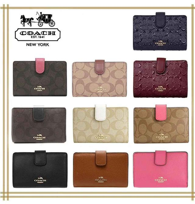 画像: 【3位】[COACH]MEDIUM CORNER ZIP WALLET