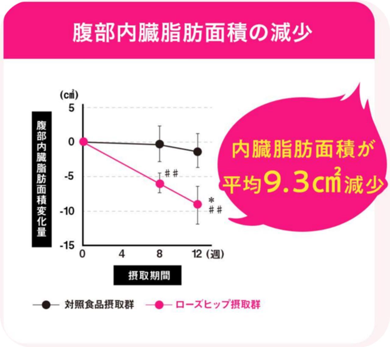 画像2: ローズヒップのチカラで内臓脂肪を減らす「FATDOWN(ファットダウン)」