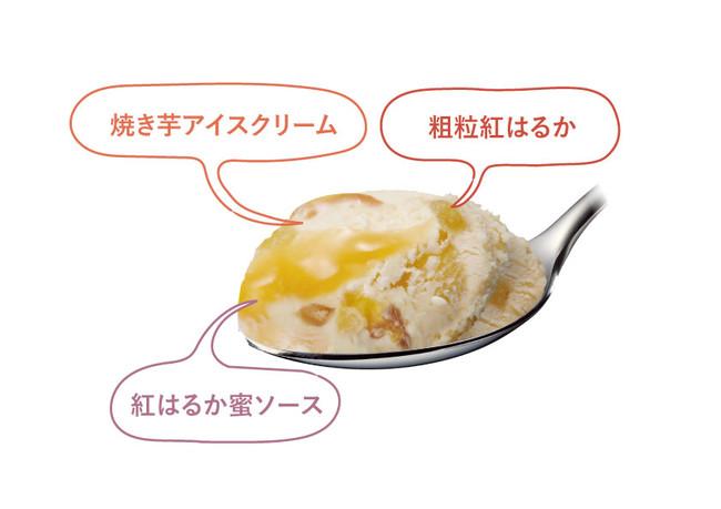 """画像2: 秋を先取り!蜜がたっぷり入った人気の""""蜜芋"""" を表現"""